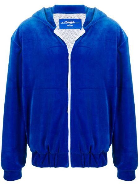 Куртка с капюшоном - синяя Anton Belinskiy
