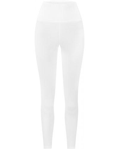 Białe spodnie oversize Marlu