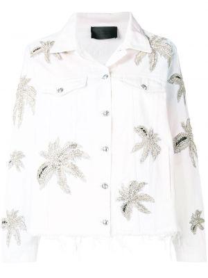Хлопковая куртка - белая Philipp Plein