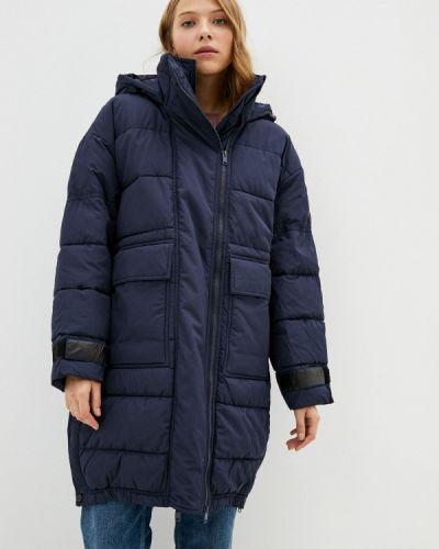 Теплая синяя куртка Baon