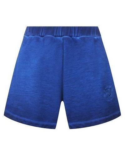 Хлопковые шорты - синие Opening Ceremony