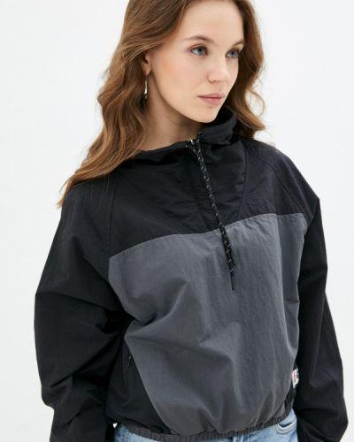 Черная разноцветная куртка Superdry