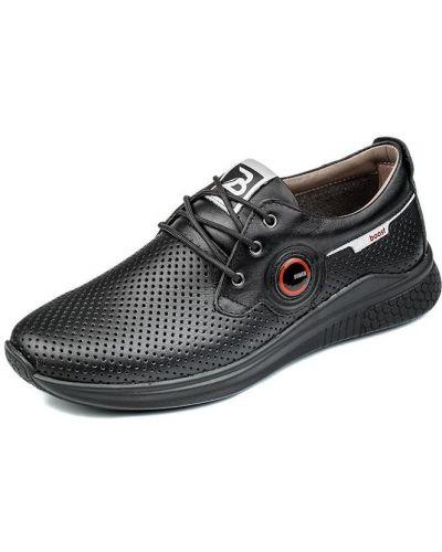 Туфли на каблуке - черные Bumer
