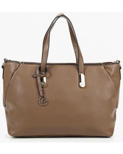 Кожаная сумка из искусственной кожи коричневый Carpisa