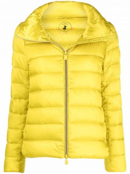 Стеганая куртка - желтая Save The Duck