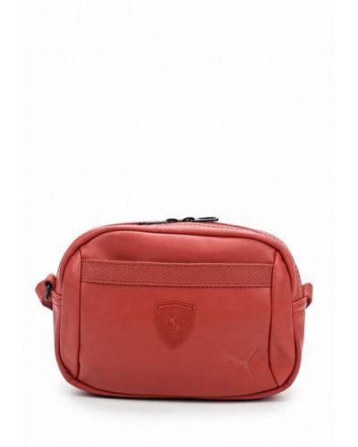 Красная сумка Puma