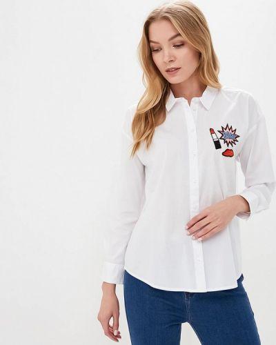 Рубашка с длинным рукавом белая S.oliver
