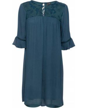 Летнее платье мини со вставками Bonprix