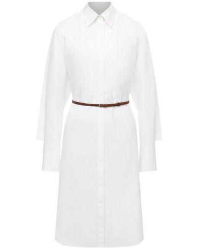 Кожаное платье - белое The Row