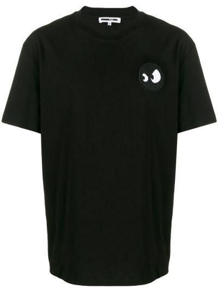 Koszula czarna z cięciem Mcq Alexander Mcqueen