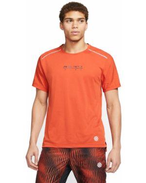 Top - pomarańczowa Nike