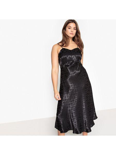 Вечернее платье миди мини с длинными рукавами Castaluna