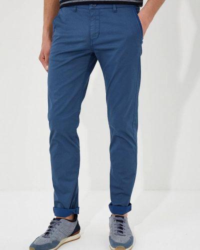 Синие брюки Lagerfeld