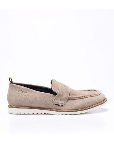 Бежевые туфли Strellson