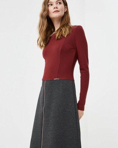 Платье бордовый красный Vemina City Lisa Romanyk