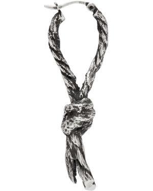 Kolczyki ze srebra srebro Ann Demeulemeester