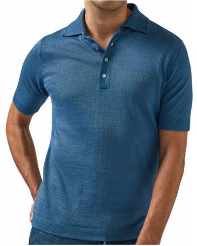 Niebieska koszula Lardini