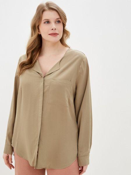 Блузка с длинным рукавом весенний бежевый Junarose