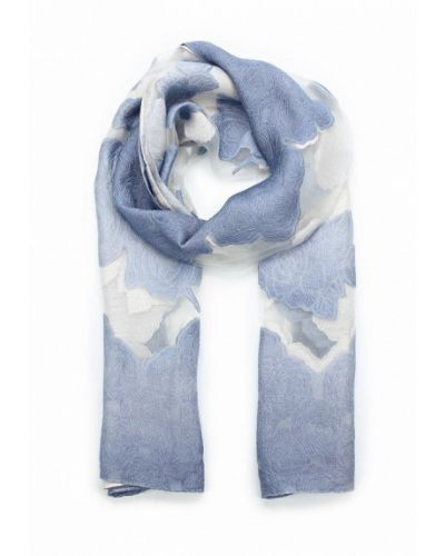 Голубой палантин итальянский Venera
