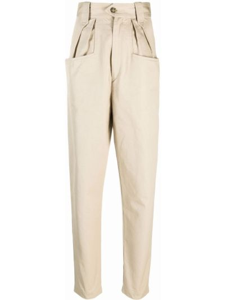 Бежевые джинсовые джинсы Isabel Marant Étoile