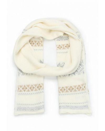 Белый шарф осенний United Colors Of Benetton