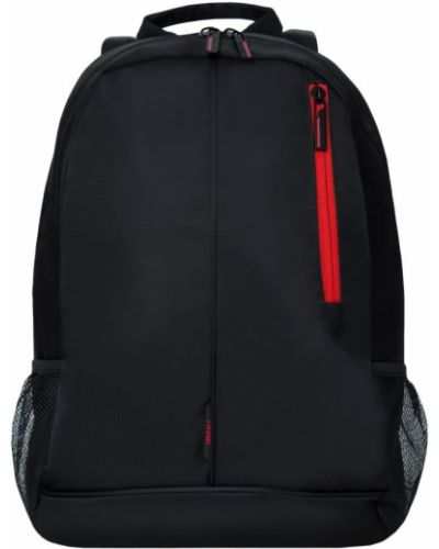 Черный школьный ранец на молнии Grizzly