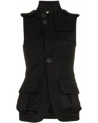Армейская черная куртка Wales Bonner
