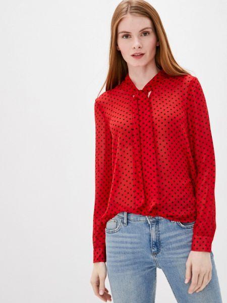 Красная блузка с длинным рукавом снежная королева