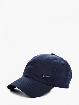 Синяя бейсболка Nike