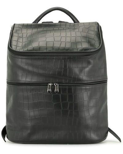 Czarny plecak skórzany Longchamp