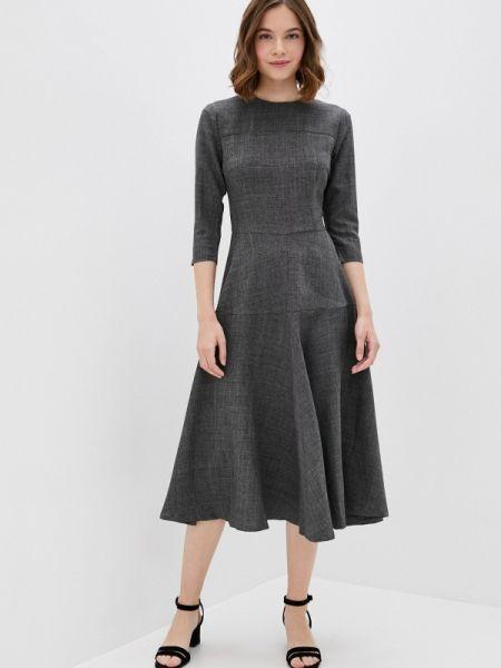 Серое платье Maurini