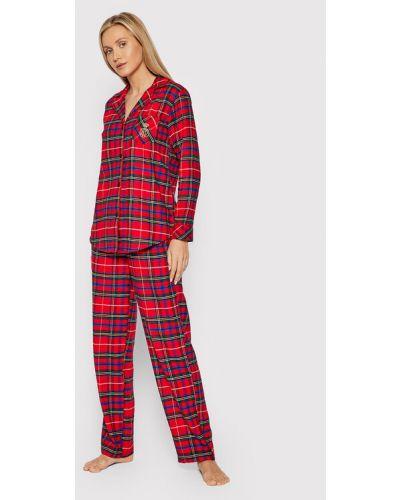 Piżama - czerwona Lauren Ralph Lauren
