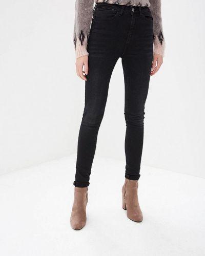Черные джинсы-скинни Noisy May
