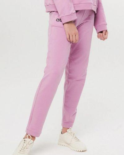 Фиолетовые спортивные брюки Jolifashn