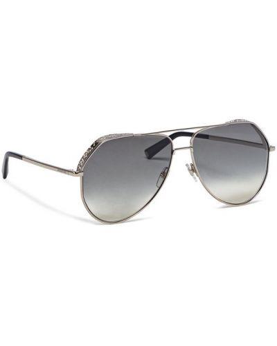 Okulary srebrne Givenchy