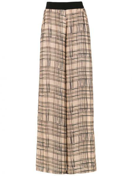 Коричневые свободные брюки Mara Mac