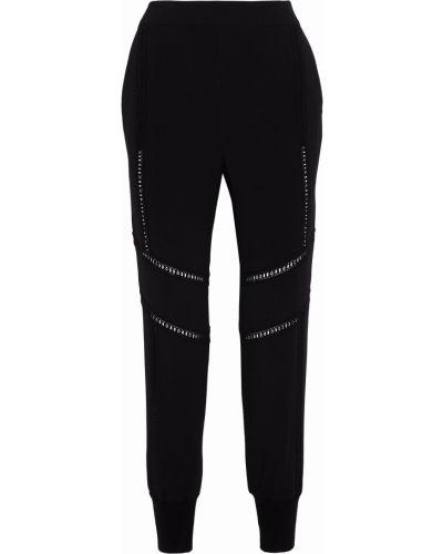Черные брюки с карманами Stella Mccartney