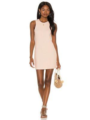 Платье из спандекса - розовое Michael Lauren