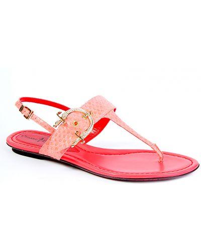 Розовые сандалии Cesare Paciotti
