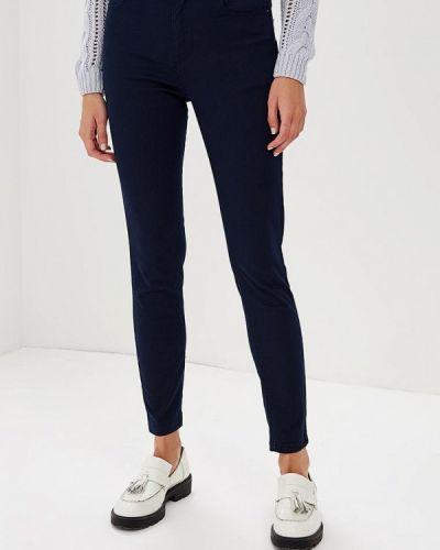 Синие зауженные брюки Befree