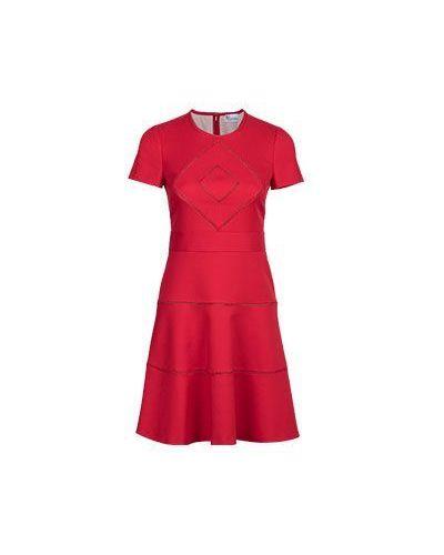 Красное платье миди Valentino Red
