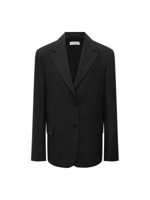 Шерстяной пиджак - серый Dries Van Noten