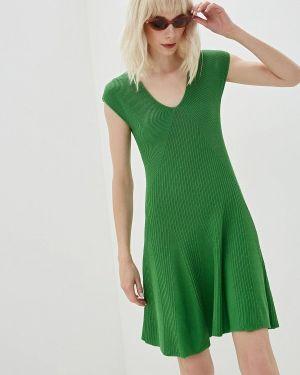 Платье прямое зеленый Lorani