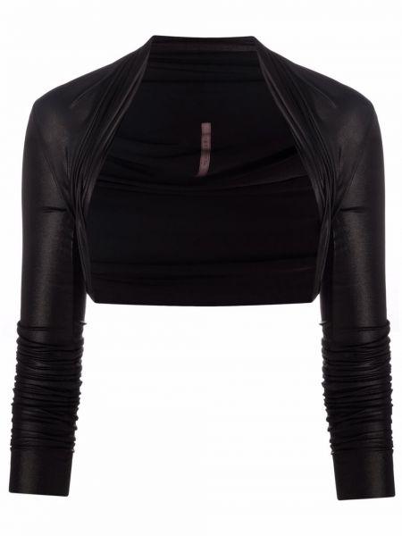 Приталенная куртка - черная Rick Owens Lilies