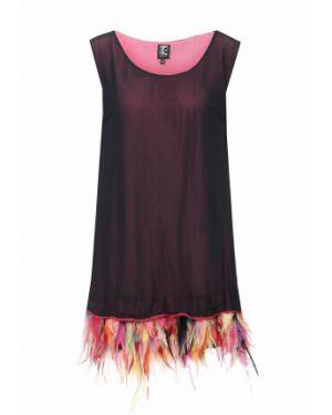 Платье итальянский черное Tricot Chic