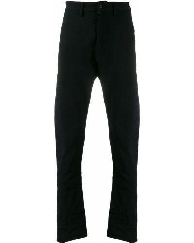 Черные деловые брюки на пуговицах Poème Bohémien