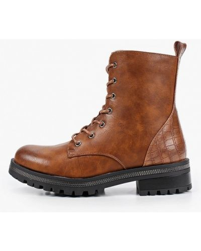 Кожаные коричневые пинетки Ideal Shoes
