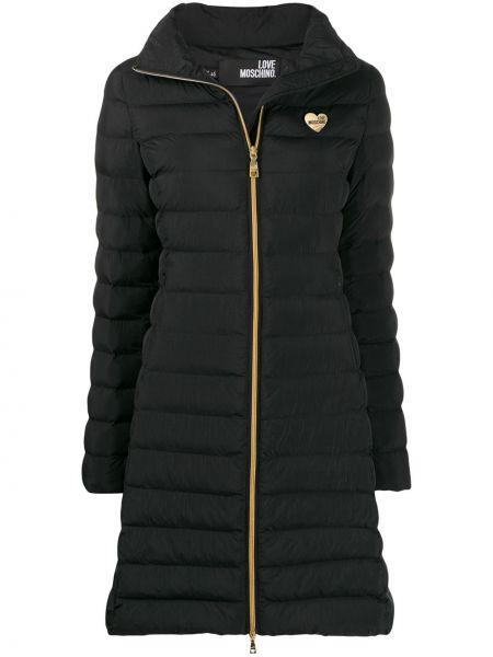 Пальто на молнии пальто Love Moschino