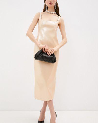 Платье - бежевое N°21