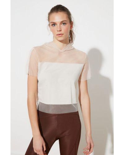 Bluzka bawełniana Trendyol